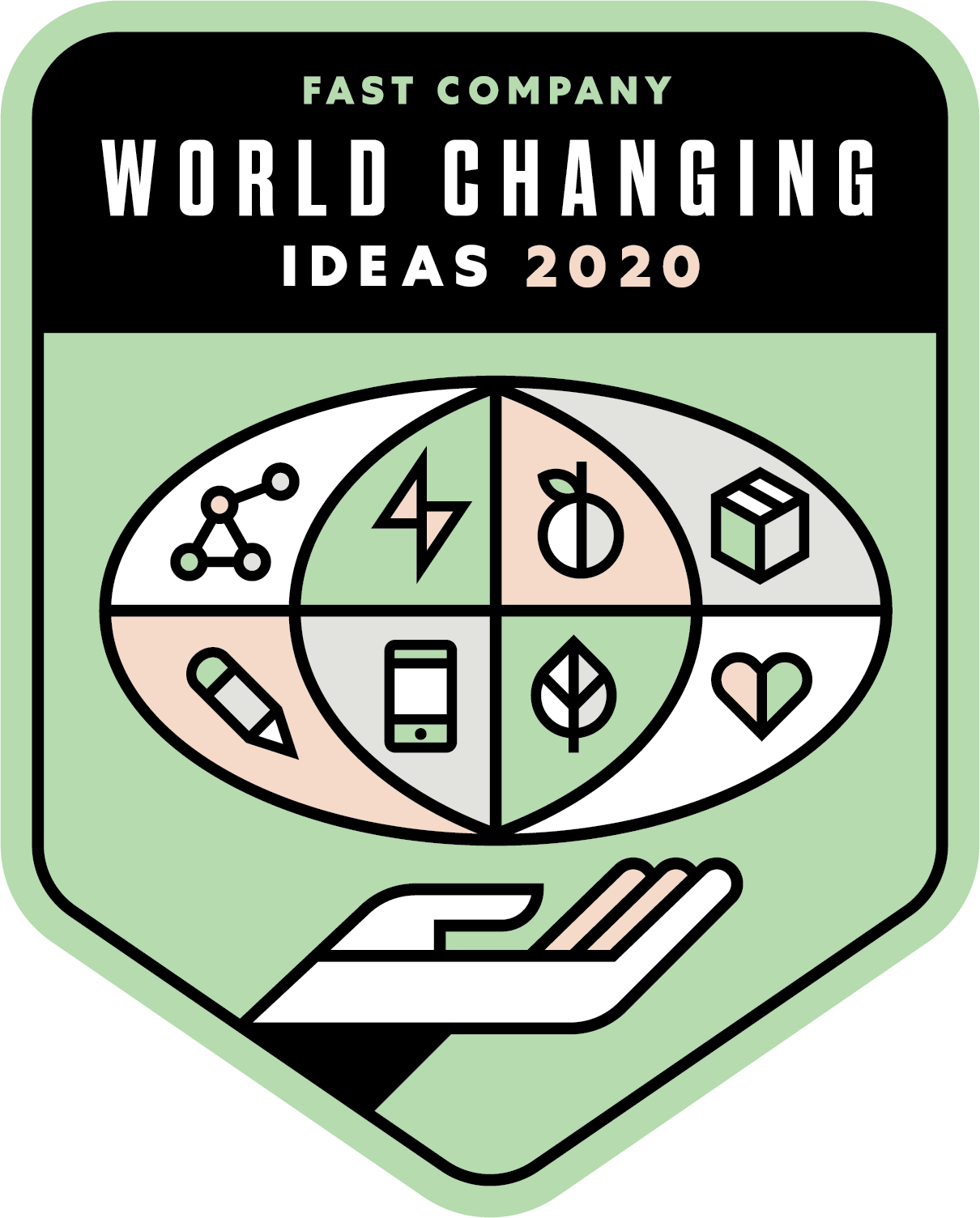 Logo for Fast Company - World Changing Ideas 2020 - Standard Logo